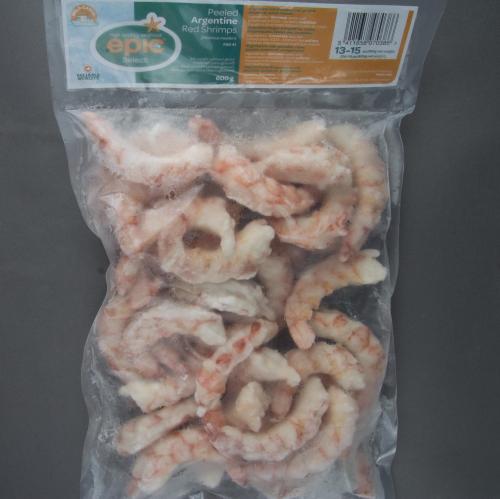 Argentine Red Shrimps Raw Peeled 13 15 Pc 360g 800g Unit Carton